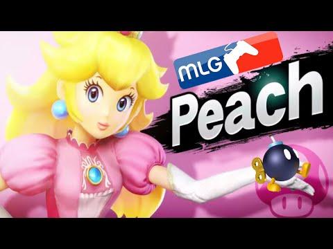 MLG Peach too OP! PLZ NERF! - Smash Bros. Wii U / 3DS MLG Parody