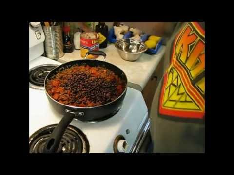 How To Make Beef and Bean Burritos - My Way