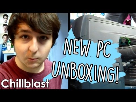 PC UNBOXING MONTAGE VIDEO THING.