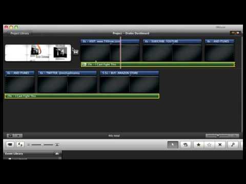 iMovie 09 Audio Fading