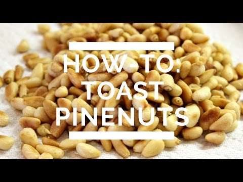 How-To: Toast Pinenuts