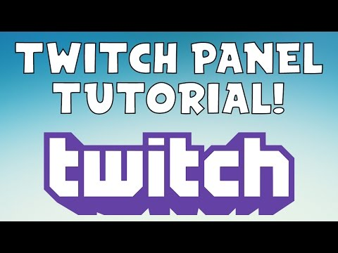 Tutorial: How To Make Twitch Channel Panels/Buttons In Photoshop CC 2017! Easiest way to make panels