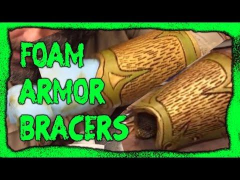 Make Foam Armor bracers