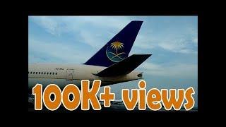 Saudi Arabian Airlines Hajj Flight 2017   Dhaka To  Jeddah  DAC-JED  SV803   Boeing 777-268 ER 