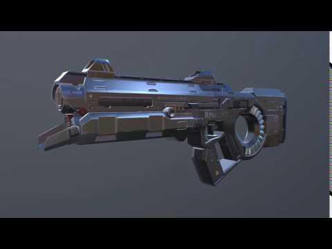 Sci-Fi Laser Machine Gun Sound Effects