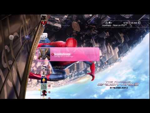 The Amazing Spider-Man 2 - Dynamic Theme [PS3] [720p HD]