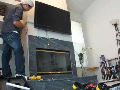 How to WALL MOUNT TV Easy Way