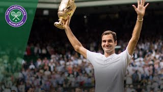 Roger Federer wins Wimbledon - Virtual Reality Highlights