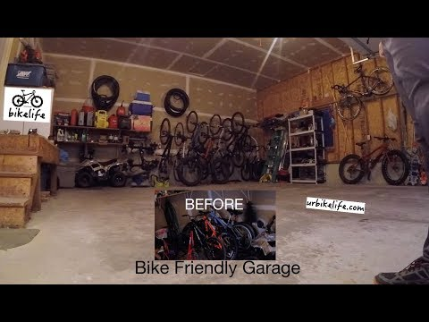 Make a Bike Friendly Garage