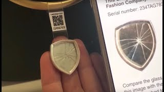 UATAG uses glass to protect from counterfeit products