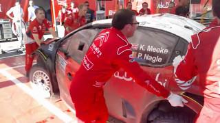 2017 Argentina - Rally Kris Meeke, Paul Nagle - Crash and Rebuild of Citroën C3 WRC Timelapse