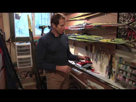 How to Wax Skate Skis