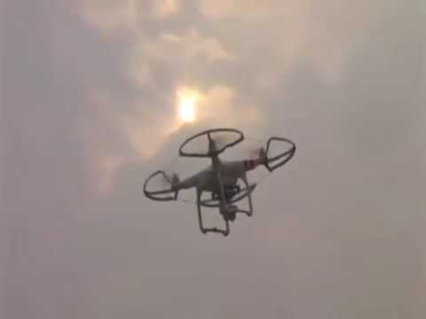 Indian Police Become High-Tech Using Drone For Observation