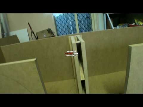speaker line array build part 2