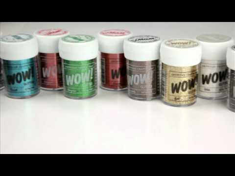 American Crafts - Wow! Pop! and Spark! Glitter