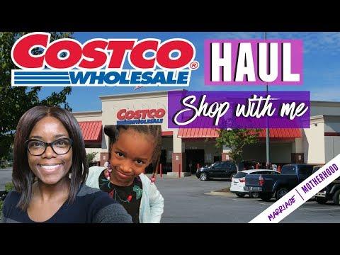 HUGE COSTCO HAUL 🛒| Shop with me | Haul 2018