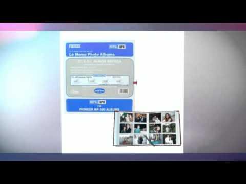 Pioneer Memo Pocket Album Refill for MP-300, 3 1/2