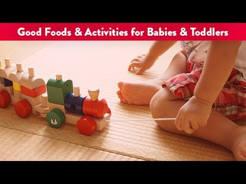 Good Foods & Activities for Babies & Toddlers | CloudMom