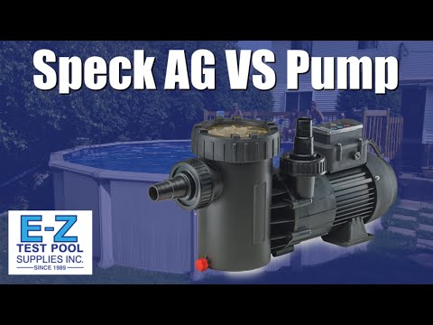 Speck Pumps Above Ground Variable Speed Pump (Model E71-II VHV)