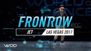 "Justin ""Jet"" Valles   FrontRow   World of Dance Las Vegas 2017   #WODLV17"