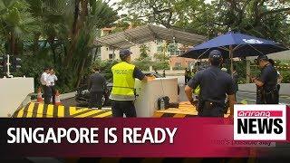 Singapore tightens security ahead of N. Korea-U.S. summit
