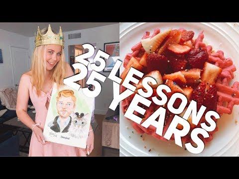 25 Lessons I've Learned