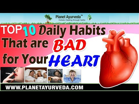 Top 10 Daily Habits That Are Bad For Your Heart | Avoid Them & Keep Your Heart Healthy