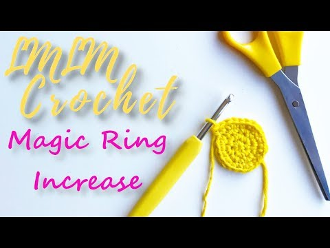 How to Increase in the Magic Ring (Circle)