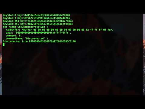Extracting keys from an August lock using the guest account