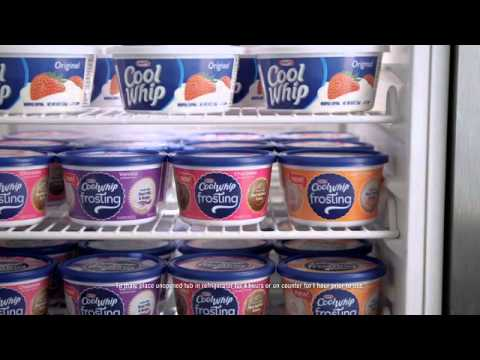 Kraft: Cool Whip Frosting - Mistreated Cakes