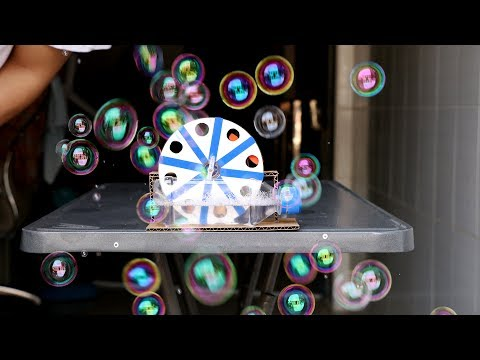 DIY Bubble Machine Battery Operated