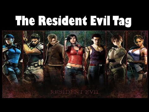 The Resident Evil Tag (by The Trashed Picture Show)