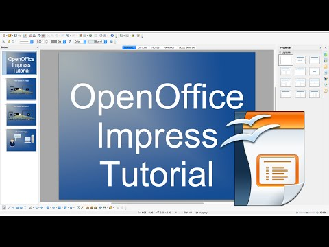 OpenOffice Impress Slideshow Beginner Tutorial!