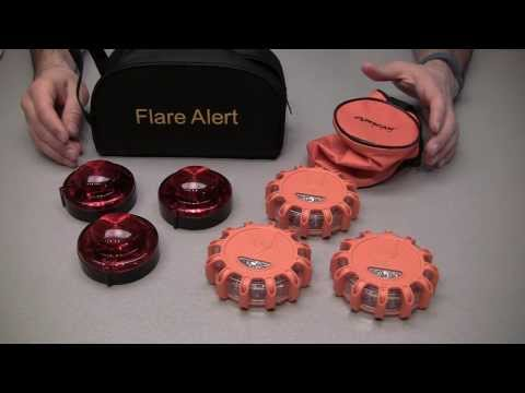 Review: Wagan FRED LED Flare vs  FlareAlert LED Emergency Flares