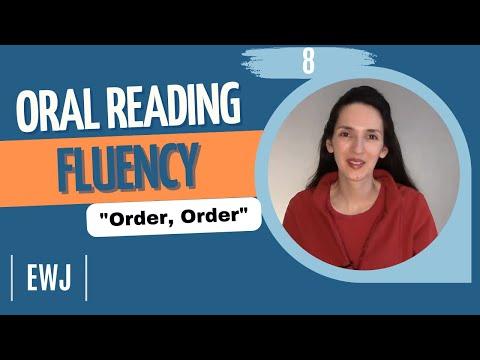 Oral Reading Fluency 8 -