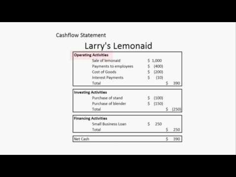 Small Business Basics : How to Understand a Cash Flow Statement