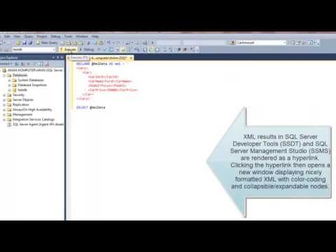SQL Server 2014: XML and database - Introduction