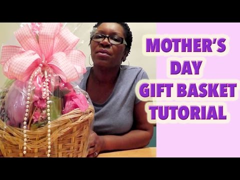 MAKE A MOTHER'S DAY BASKET   DOLLAR TREE   DIY GIFT IDEAS
