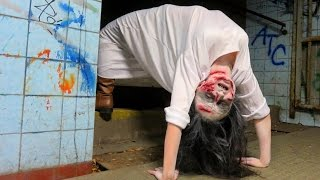 Exorcist Demon Spider Walk Prank!
