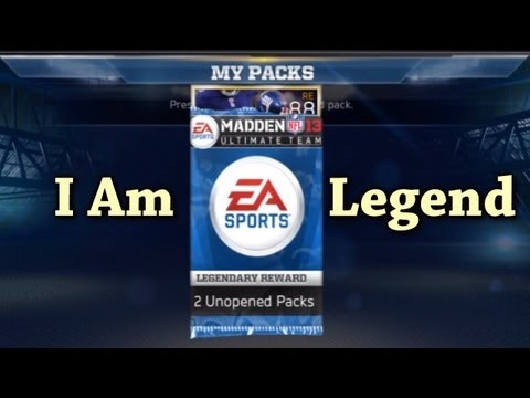 Legends Pack Openings: Madden 13 Ultimate team: How to get Coins, & Trade Tips