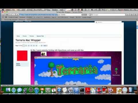 Make a server on Terraria Mac Only
