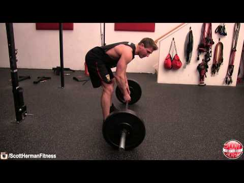 Worst Mistake When Performing The Bent-Over Row