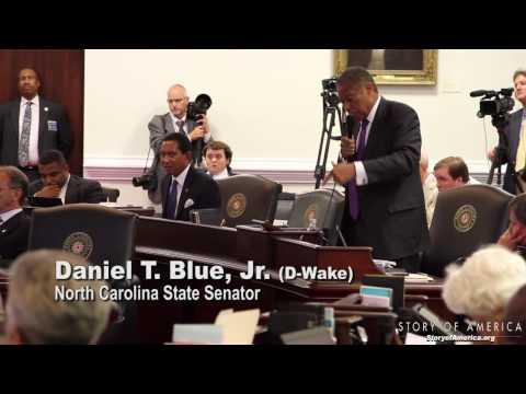Sen. Dan Blue on NC Voting Restrictions July 25, 2013