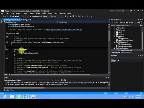 Windows 8 Development - Save File Picker State XAML