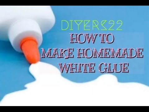 DIY: How To Make White Glue