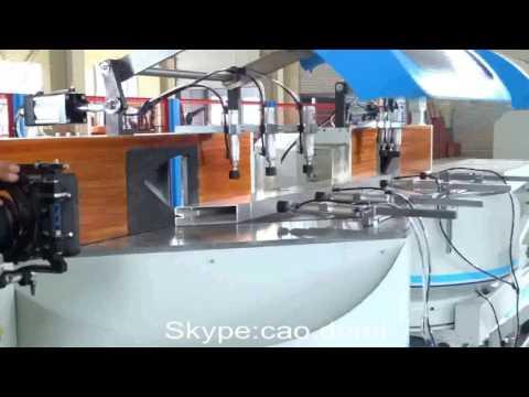 aluminum window cutting saw,aluminum window making machine,windows and doors making equipment