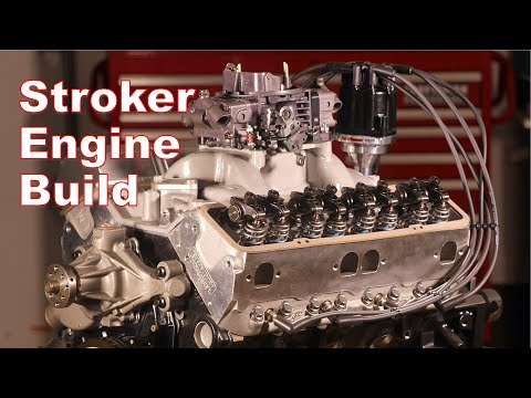 The Ultimate Small Block Stroker Engine Build -- Part 4
