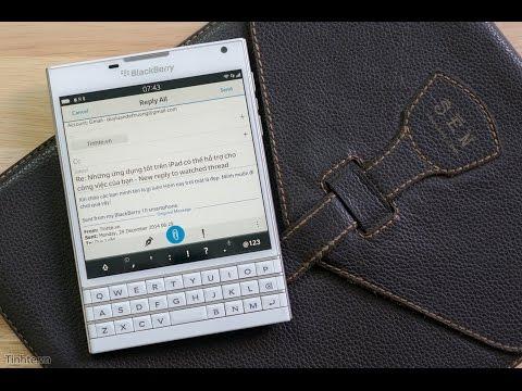 Tinhte.vn - Sử dụng bàn phím BlackBerry Passport hiệu quả hơn