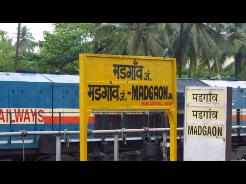INDIAN RAILWAYS | DIESEL JOURNEY THROUGH GOA ALONG THE MAGICAL KONKAN COAST | Thivim to Loliem