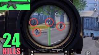 Ranked 33 Kills Squads Gameplay Using Dmnj S Autoheadshot Trick